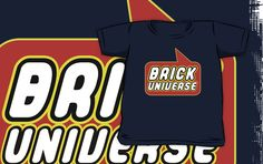 Brick Universe T-shirt by Bubble-Tees.com by Bubble-Tees