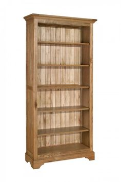 Toulouse Large Oak Bookcase