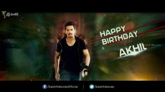 #AkhilAkkineni Birthday Special Exclusive Making Video!!