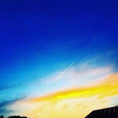 奈良旅最終日の夕暮れ 楽しい旅は早いな #IGersJP#japan#japanes#イラスト#art#sorami#宇宙海町#マンガ#漫画#イマソラ#blue#日本#町#奈良旅 by sasakijuin