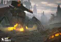 ArtStation - War Robots, Petr Morozoff