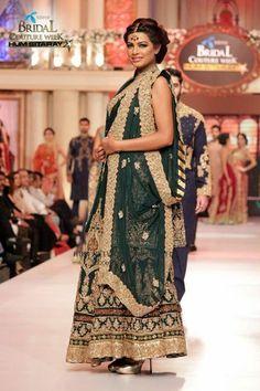 Pakistani bridawal couypur week june2015 #pbw designer #hsy pinned by #sidra younas