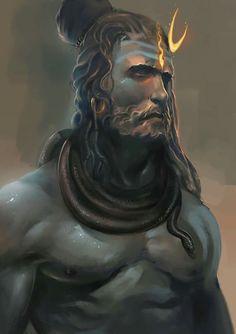 lord shiva by abhishek singh Shiva The Great, Artist Inspiration, Goddess, Lord Shiva, Shiva Shakti, Shiva The Destroyer, Lord Siva, Deities, Shiva Tattoo
