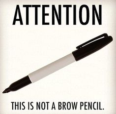Attention: This Is Not a Brow Pencil.  http://phoenixbeautylounge.com/