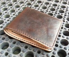 my Vegtan leather Wallet