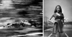 If ever there was a sport that required rapid fire photography, Formula One racing is it. Which makes what photographer Joshua Paul does even more fascinating, because instead of using top-of-the-range cameras to capture the fast-paced sport, Paul chooses to take his shots using a 104-year-old Graflex 4×5 view camera.