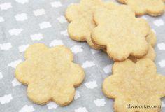 galletas de boniato y almendras