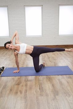 Tone Your Entire Body With This Cardio and Strength Pilates Workout