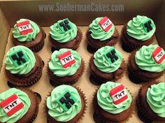 Minecrafts cupcake