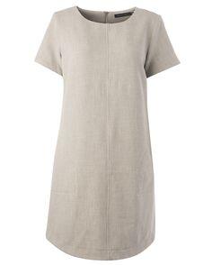 Monikäyttöisessä mekossa on taskut piilossa. Short Sleeve Dresses, Dresses With Sleeves, Fashion, Moda, Sleeve Dresses, Fashion Styles, Gowns With Sleeves, Fashion Illustrations