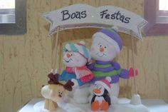 Bonecos de neve BR$48