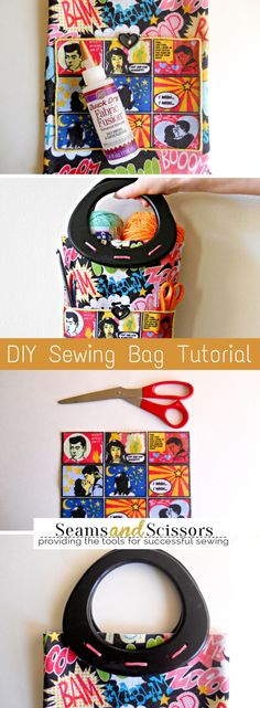 Make this DIY sewing bag in just 5 easy steps!