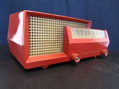 1950 Philco Jetson radio. Pin-up Girl AWESOME.