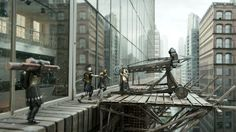 Game of War Rooftop Bond, Visual Effects, Rooftop, Advertising, Animation, War, Games, Film, Movie
