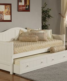 Look what I found on #zulily! White Staci Trundle Daybed #zulilyfinds