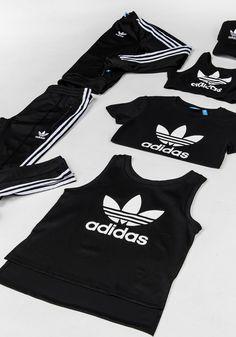 Women's adidas Originals in Black & White