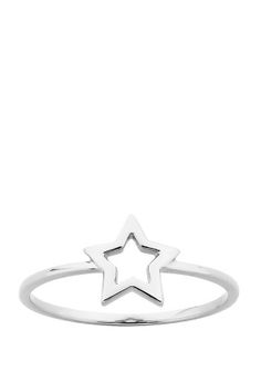 Shop for Jewellery at Incu Mini Star Ring in Silver by Karen Walker-- gift from dan and bella Lula Rose, Rings N Things, Star Ring, Things To Buy, Stuff To Buy, Buy Buy, Karen Walker, White Christmas, Ring Designs