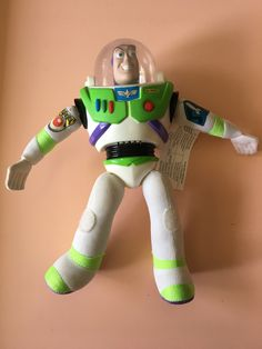 1995 Toy Story Burger King Buzz Lightyear premium meal toy - Pixar Disney -  Happy Meal toy - Buzz Light Year
