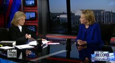 Greta Van Susteren Presses killary clinton on the Constitution: 'We Have This Funny Little Thing Called the Fourth Amendment and It's Actually Quite Plain' 6/17/14 *Liar killery ssslippery as a sssnake (as in) speaks with a forked tongue.
