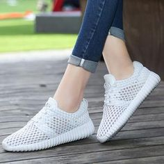 Women's Sports Shoes Red&White&Black&Pink Rubber sole Flexible ,stability, Anti-slip Sole is very wearable and good build and flat sole structu Fashion Sandals, Shoes Sandals, Casual Sneakers, Casual Shoes, Womens Summer Shoes, Super High Heels, Italian Shoes, Luxury Shoes, Sports Shoes