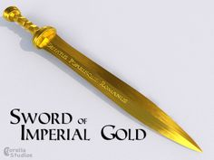 Jason Grace Sword of Imperial Gold by CorellaStudios.deviantart.com