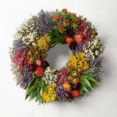 Farmers' Market Herb Wreath