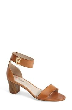 Do you think I could rip the E off of these? $110  Blondo 'Dalina' Leather Ankle Strap Sandal (Women) | Nordstrom