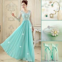 elegant #prom dress #evening dress eith high quality
