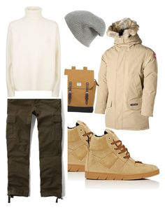 худой by zinchenko-sasha on Polyvore featuring polyvore Abercrombie & Fitch Canada Goose Loewe Sandqvist rag & bone Vince men's fashion menswear clothing