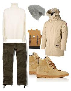 худой by zinchenko-sasha on Polyvore featuring polyvore Abercrombie & Fitch Canada Goose Loewe Sandqvist rag & bone Vince men's fashion menswear clothing