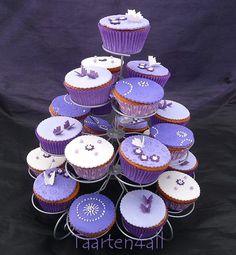 Cupcakes paars Winterswijk Achterhoek Gelderland
