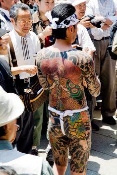 Art Talent - Yakuza in a matsuri