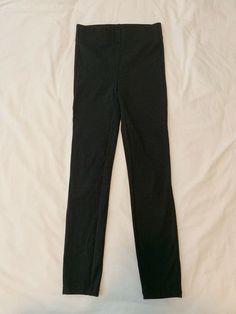 Hue Women/'s Original Denim Capri Leggings Red Alert Size S-L