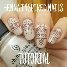 Loves! Here's the tutorial for the henna inspired nails!! If any step is unclear, feel free to ask ❤ - - Song: In the night by The Weeknd - - Amores! Aquí está el tutorial para mis uñas inspiradas en Henna!! Si algún paso no está muy claro, no duden en preguntar ❤ #hennanails #hennainspiration #henna