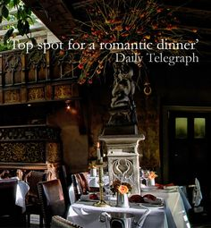 Check out Edinburgh's most famous, highly rated and bewitching restaurant.