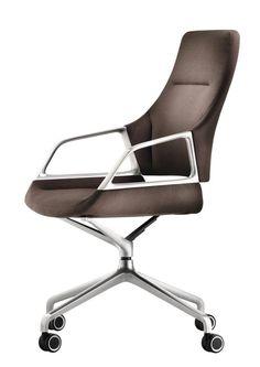 jehs & laub graph chair modern home office swivel chair Small Office Chair, Best Office Chair, Home Office Chairs, Home Office Furniture, Office Desk, Boardroom Furniture, Modern Swivel Chair, Swivel Office Chair, Modern Armchair
