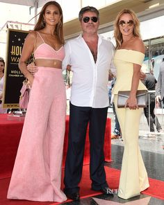 Red Carpet Celebrity Style and Fashion Trends Coverage Amanda Holden Style, Amanda Holden Bgt, Alexa Dixon, Celebrity Red Carpet, Celebrity Style, Jenna Coleman Style, Britain's Got Talent, Hollywood Walk Of Fame, Red Carpet Fashion