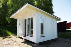 Bastu-Relax - Funkis 15 - Hälsinge Fjäll- & Kusthus The Hamptons, Saunas, Shed, Relax, Loft, Outdoor Structures, Tiny Houses, Style, Lawn And Garden