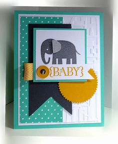 Zoo Babies, Me, My Stamps and I, Stampin' up