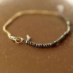 Pyrite Delicato Bracelet.