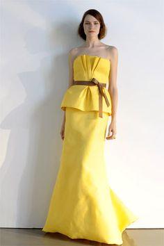 Monique Lhuillier Resort 2009 Fashion Show - Rachel Clark