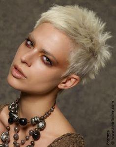 Cortes de pelo corto para mujeres rubias 2015