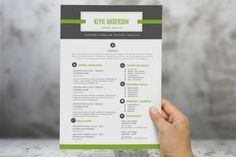 2 in 1 banner icon Word resume by Inkpower on Creative Market
