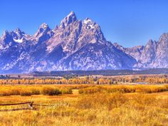 """Grand Tetons....""""Wherever we go in the mountains, we find more than we seek""""- John Muir"""