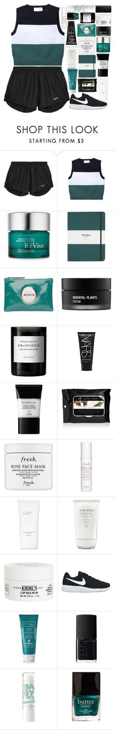 """You Deserve More Than I Can Promise"" by just-a-reject-x ❤ liked on Polyvore featuring NIKE, A.L.C., RéVive, Shinola, Mimco, Koh Gen Do, Byredo, NARS Cosmetics, Smashbox and Fresh"