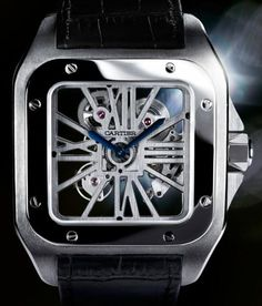 Cartier Santo 100 skeleton