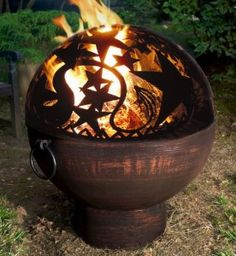 Magickal Ritual Sacred Tools:  Witchy Fire Pit.