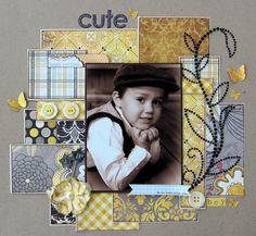 cute boy ~scraptastic club~ - Scrapbook.com