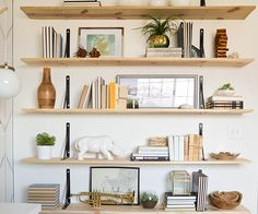 Reverse bracket and plywood shelves  Alicia s Office Reveal   Vintage  Revivals  Bracket above upper  on top  reverseBeautifully crafted from sturdy raw oak with two soft and strong  . Ferm Living Shelf Brackets. Home Design Ideas
