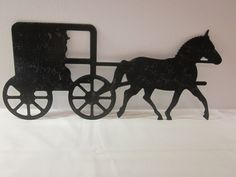 old wagon silhouette Gallery |Metal Horse And Buggy Silhouette